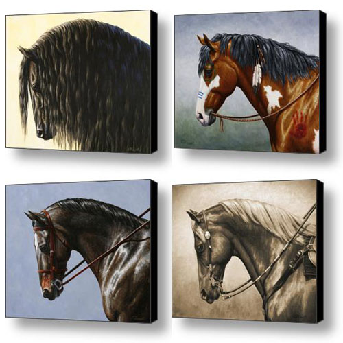 Crista Forest Horse Paintings
